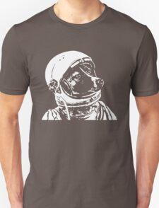 Astronaut Dog Cool Unisex T-Shirt