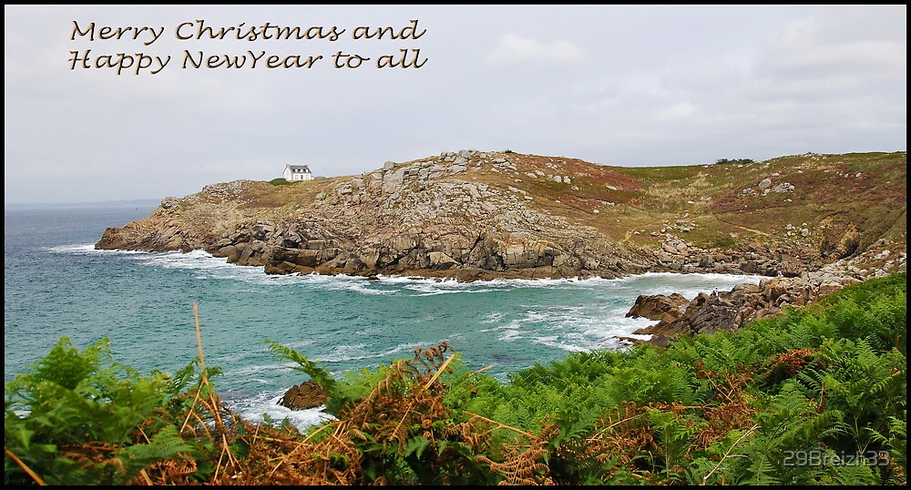 From Brittany to all Redbubble friends by 29Breizh33