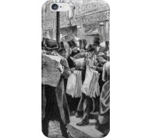 Going viral (old school) iPhone Case/Skin