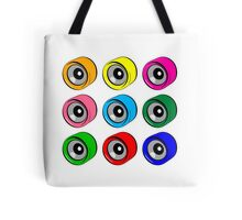 Roller Skate Wheel Pattern Tote Bag