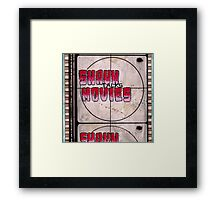 Shaun Talks Movies Framed Print