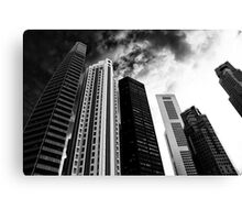 BUILDINGS city in the mood Canvas Print
