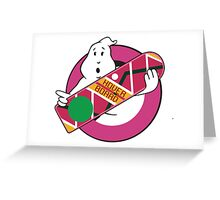 GHOST TO THE FUTURE Greeting Card