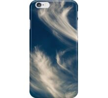 Cloud Wisps Abstract Art iPhone Case/Skin