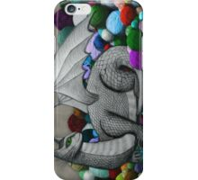 Tabby Dragon with Yarn Hoard iPhone Case/Skin