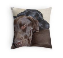 Its a Dogs Life Throw Pillow