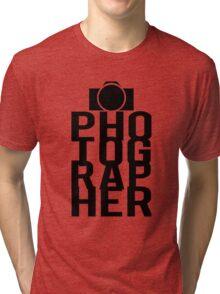 Camera Photographer Tri-blend T-Shirt