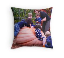 Pumpkin King Throw Pillow