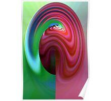 """""""Colour-flow"""" Poster"""