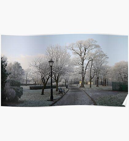 Frosty Park Poster