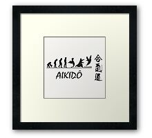 Aikido Evolution  Framed Print