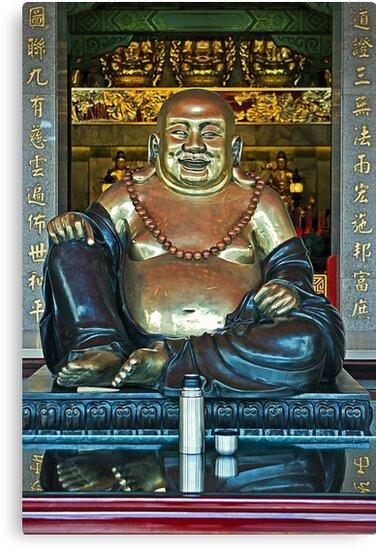 Zhinan Temple Buddha by TonyCrehan