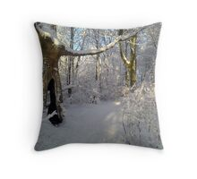 """""""Orchestral snowstorm"""" Throw Pillow"""