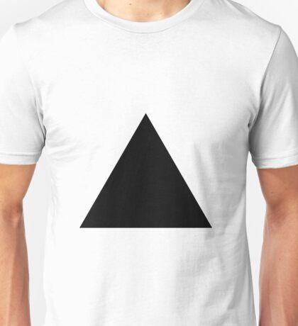 Black Triangle Unisex T-Shirt