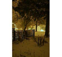 """Snowstorm"" Photographic Print"