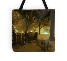 """Snowstorm"" Tote Bag"