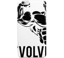 Evolve Fitness Running Muscle BodyBuilding iPhone Case/Skin