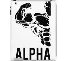 Alpha Fitness Running Muscle BodyBuilding iPad Case/Skin