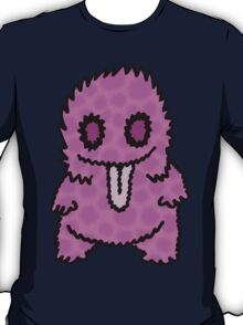 Ghouly Fuzz Pink T-Shirt