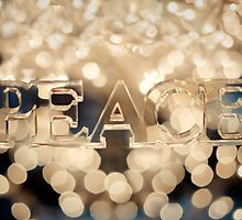 May Peace be your gift at Christmas and your blessing all year through! by Natalia Campbell