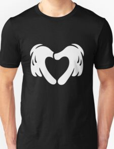 Heart Shaped Cartoon Love T-Shirt