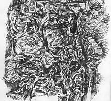 Botanica series, drawing №1 by tensil