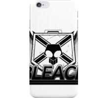 Combat Pass in Black and White iPhone Case/Skin