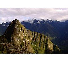 Huayna Picchu Photographic Print