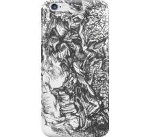 Botanica series, drawing №2 iPhone Case/Skin