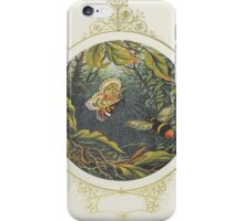 Then straight he flew like valiant knight iPhone Case/Skin