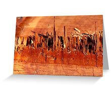 Bloodwood Greeting Card
