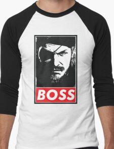 Boss Men's Baseball ¾ T-Shirt