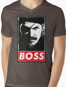 Boss Mens V-Neck T-Shirt