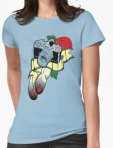 Picture perfect with colour Womens Fitted T-Shirt