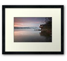 The Duke Of Portland Boathouse Framed Print