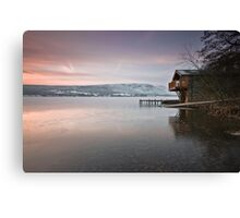 The Duke Of Portland Boathouse Canvas Print