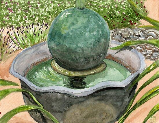 Netha's Fountain by Amy-Elyse Neer