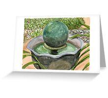 Netha's Fountain Greeting Card