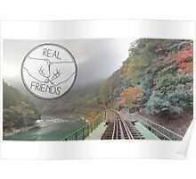Real Friends Logo Poster