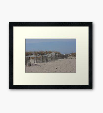 Serene Beach - Charleston, SC Framed Print