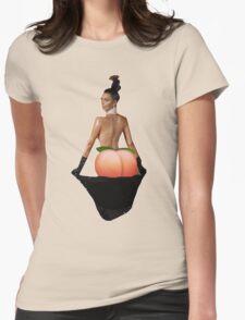 Kim Kardashian Peach Emoji Womens Fitted T-Shirt