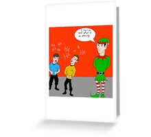 Elf Spock Greeting Card