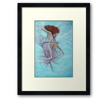 Yin, power of lightness Framed Print
