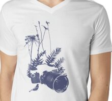 Nature Photographer Mens V-Neck T-Shirt