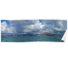 Townsville from Halifax Bay Poster