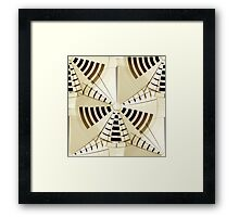 Filigree Meshweb Pattern 3 Framed Print