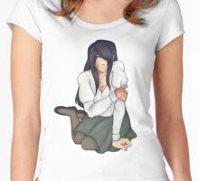 Hanako Ikezawa  Women's Fitted Scoop T-Shirt