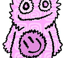 Mister Happy Belly Pink by Kristopher Kilborn