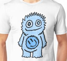 Mister Happy Belly Blue Unisex T-Shirt