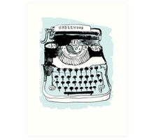 Underwood Art Print
